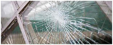 Bow Smashed Glass